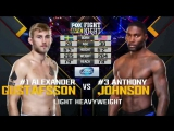 23 Anthony Johnson vs. Alexander Gustafsson - UFC on FOX 14