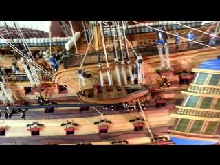 Постройка модели HMS