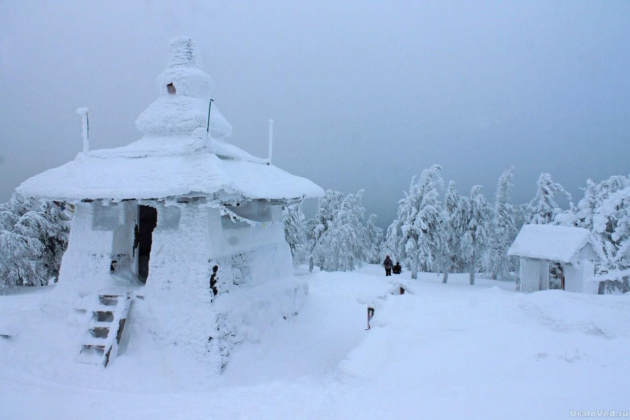 Буддистский монастырь на горе Качканар