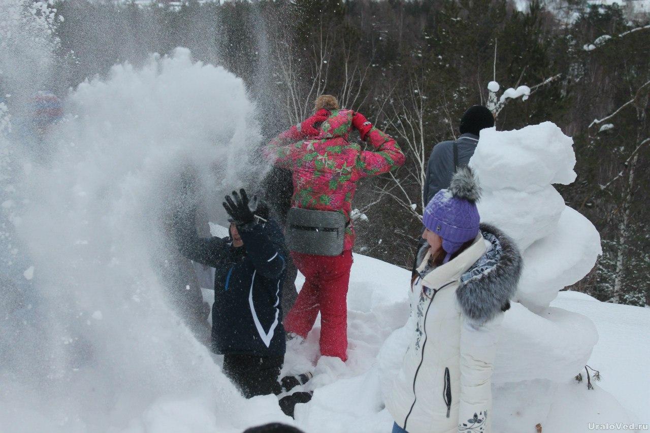 Снежный фейерверк