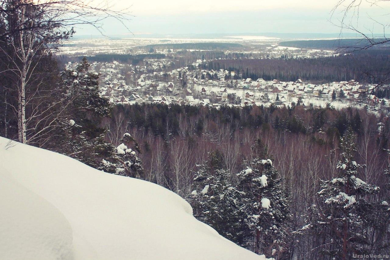 Вид с горы Копчик