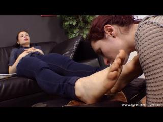 sweatremover.com — Sneakers and socks foot worship pt.4 (foot fetish, femdom, фут фетиш, лездом, фемдом)