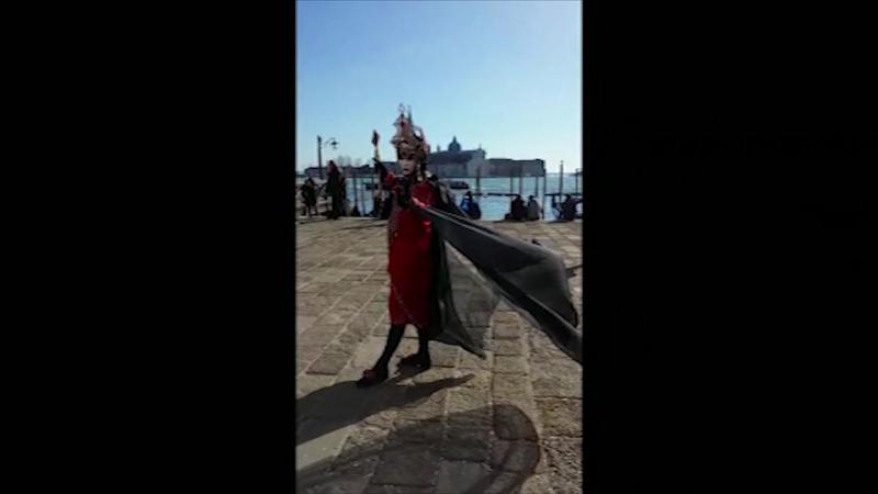 Оттавия Берати - привет с Венецианского карнавала