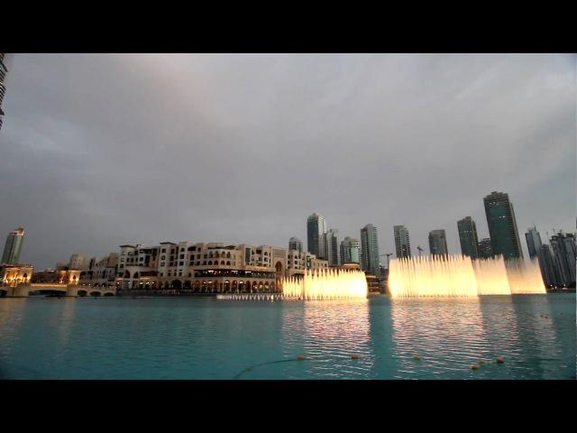 NEW Burj Khalifa Dubai Lake Fountain (Mon Amour - Song Name?)