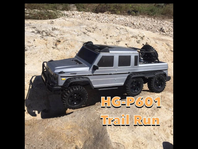 HG P601 6x6 Trail Run