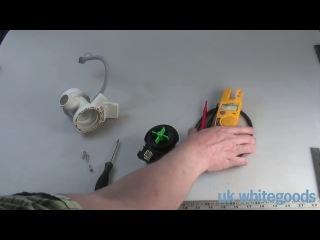 Проверка помпы стиральной машины (сливного насоса)