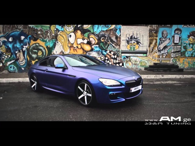 BMW 650 Matte Purple/Blue Iridescent. Wrapped by AM.ge