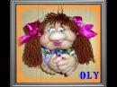Куклы из колготок -  Попики.wmv