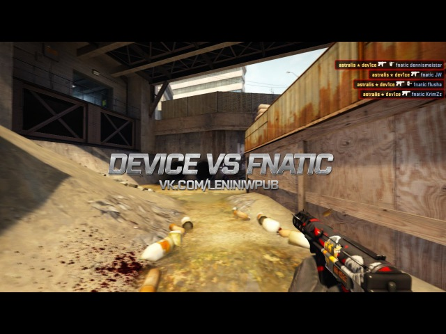 Device vs fnatic Betway Aftonbladet Fight Night 3