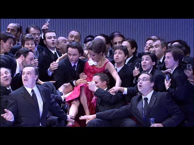 Netrebko Villazón: Libiamo ne' lieti calici (La Traviata/Verdi) HD Subtitles/Subtítulos