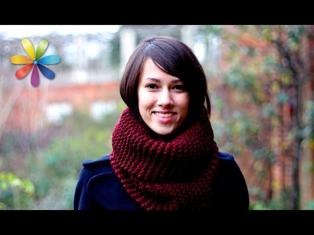 Уникальный вязаный шарф без спиц всего за 30 минут – Все буде добре. Выпуск 740 от 14.01.16