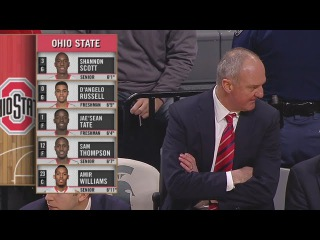 full basketball: Michigan St Spartans x Ohio State Buckeyes 14/02/15