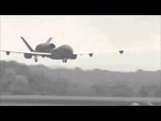 Американский стратегический разведывательный БПЛА.RQ-4 Global Hawk