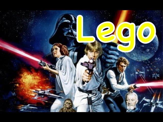 LEGO анимация:[приключения Stupy Star Wars]
