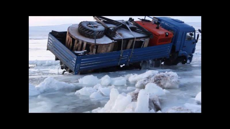 Дальнобойщики Севера. Дороги крайнего севера Зимник 5 Russian ice road truckers 5