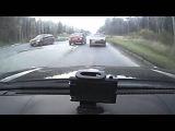 Девушка за рулем исполняет - Снежинск 5 октября 2015