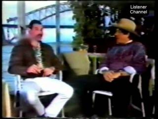 Freddie Mercury Interviewed by Molly Meldrum from Australian TV