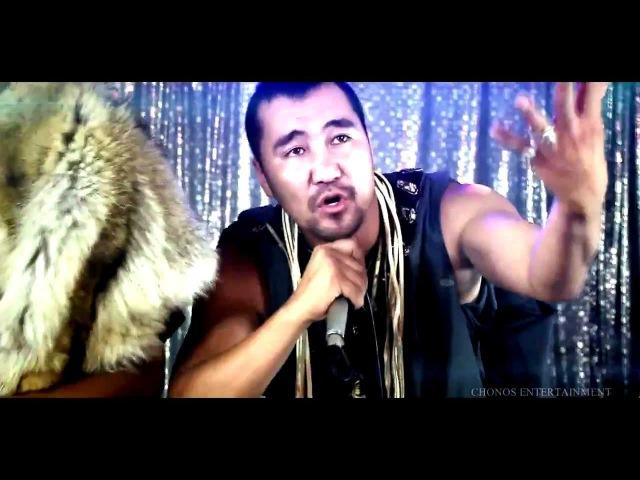 Mongolian Music (Rap Style) Throat Song Fish Symboled Stamp