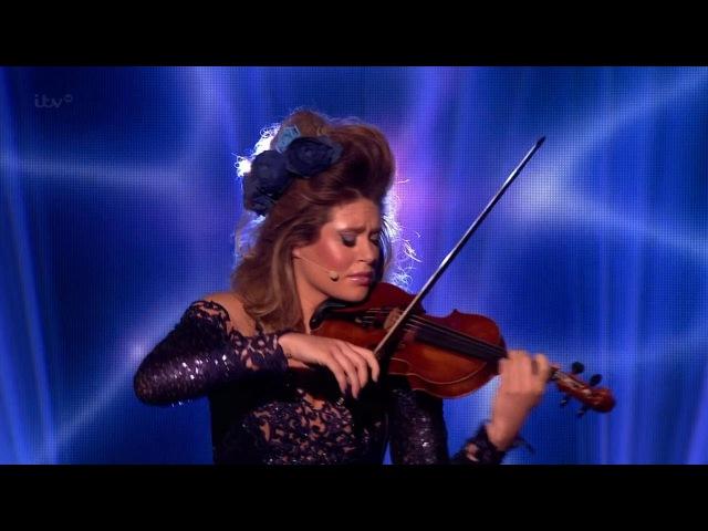Britains Got Talent Season 8 Finals Lettice Rowbotham Stunning Violinist