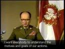 Jaruzelski declares martial law in Poland English subtitles