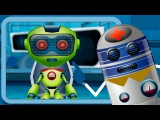 Five Little Robots Nursery Rhymes For Kids And Children's Song