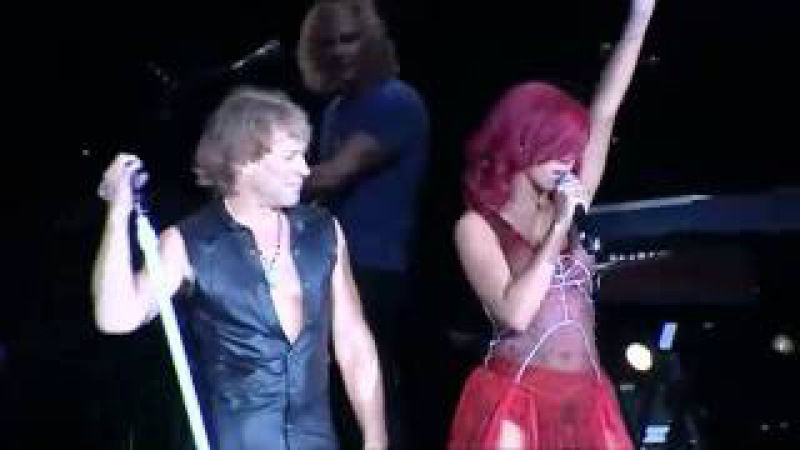 Bon Jovi and Rihanna - Livin on a prayer