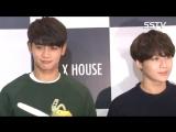 151012 Taemin и Minho на открытие магазина 'EXR Flagship Store