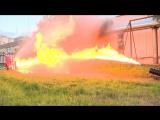 Водомет против огнемета. Полная версия. Firehose vs flamethrower. Complete video