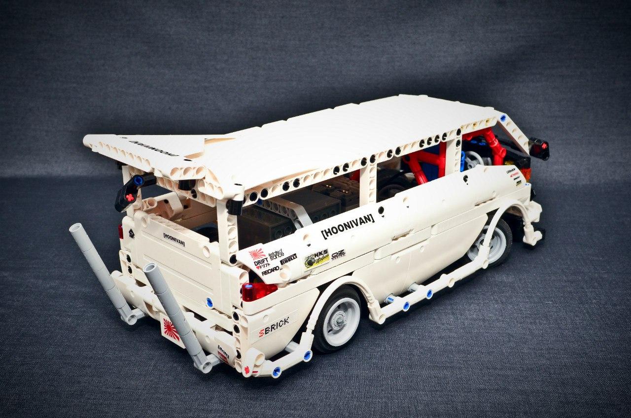 Moc Drift Van Lego Technic Mindstorms Model Team