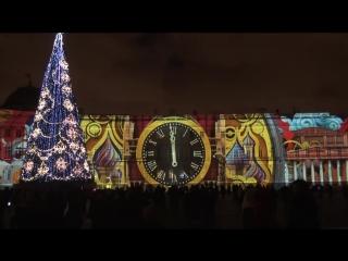 Световое шоу на Дворцовой площади 2015 [KudaInfo.ru]