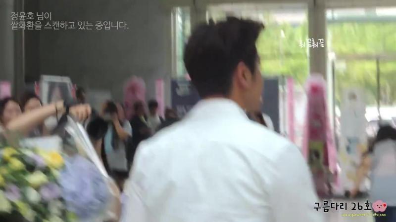 Fancam_Stalk_150629 제작발표회 퇴근길 윤호 (멀미주의) yunho fancam
