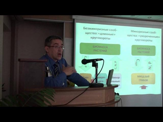 Микоризы и сукцессии растительности в наземных экосистемах(Д.В. Веселкин).