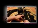 видео урок - шьём шторы. МК аппликация на бандо.