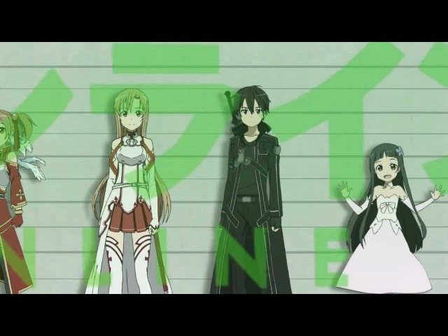 【MAD】「No pain, No game」 - ナノ Nano (Nika Lenina Russian TV Version)【Sword Art Online】