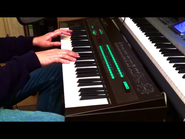 1983 Yamaha DX7 with original factory data cartridge 1 and 2 - playing all 128 sounds 1080p