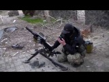 Чеченцы в Широкино, ведут огонь по сепарам из АГС