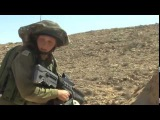 Female soldier trains to join the IDF's Caracal Battalion