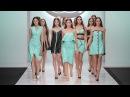 Показ новой коллекции одежды дизайнера Элеоноры Амосовой в обуви kari в рамках Недели Моды в Москве
