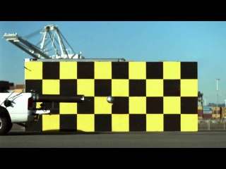 Mythbusters - Soccer Ball Shot from Truck