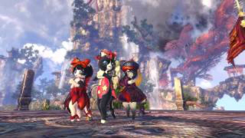 Blade Soul 3rd CBT Trailer Shyboy of Cats