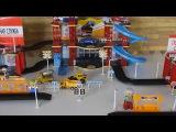 №1 - Автомобильная парковка, пожар и авария на дороге (Развивающие мультики для малышей)