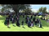 Scottish folk dance Reel of 51st set