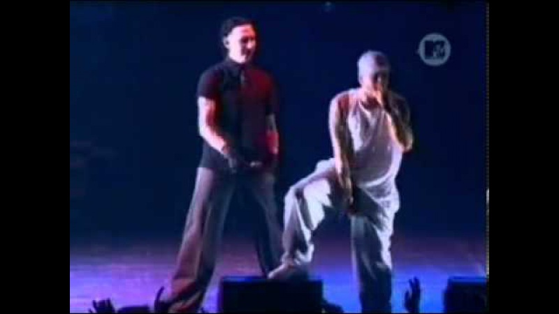 Eminem Ft Marilyn Manson The way i am Live