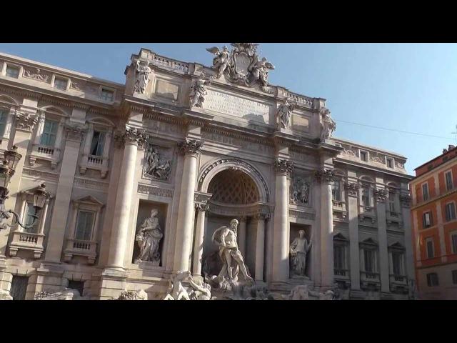 Рим, фонтан Треви, Пантеон 24 07 2013