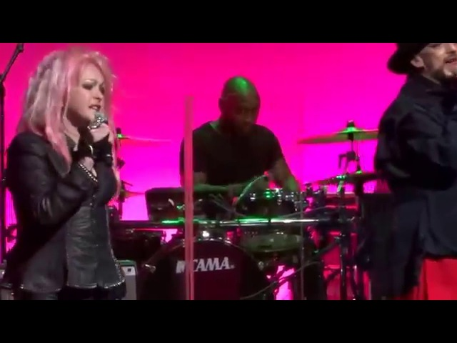 Cyndi Lauper Boy George - Girls Just Wanna Have Fun - Beacon Theatre NY