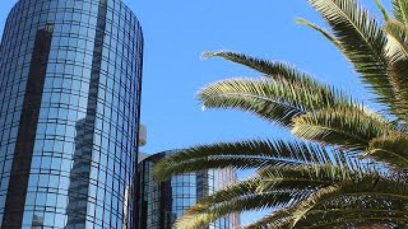 Лос Анджелес город Ангелов январь 2014