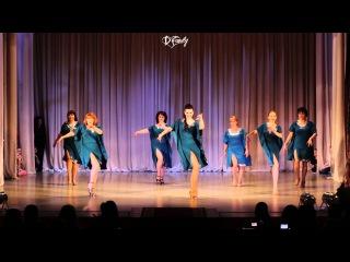 Отчётный концерт Школы танцев Dance Family 31.01.16 | Latina Dance Family Lady (начинающие)