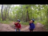 Памп трек на беговеле (3+) Runbike pump track