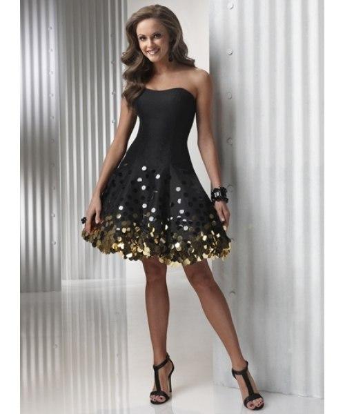 Короткие вечерние платья с ценами 37