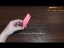 Орігамі тюльпан з паперу квітка з паперу майстер клас 1